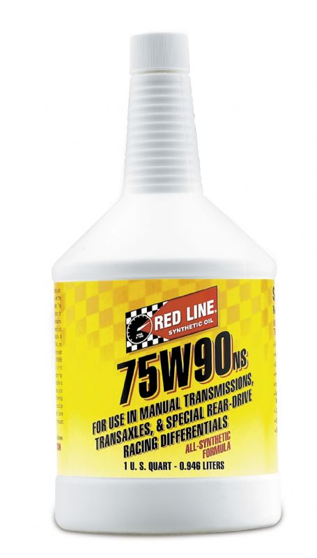 Redline 75W90 NS Gearbox Transmission Oil 1 Quart Fully Synthetic GL-5 High Performance